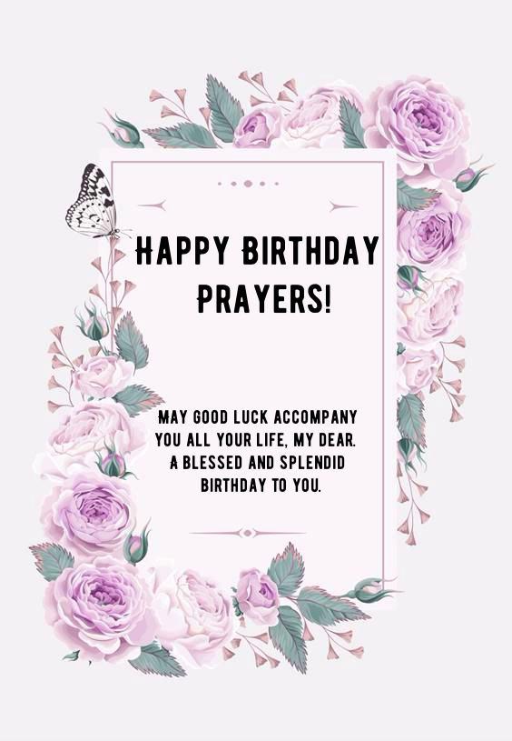 happy birthday prayers