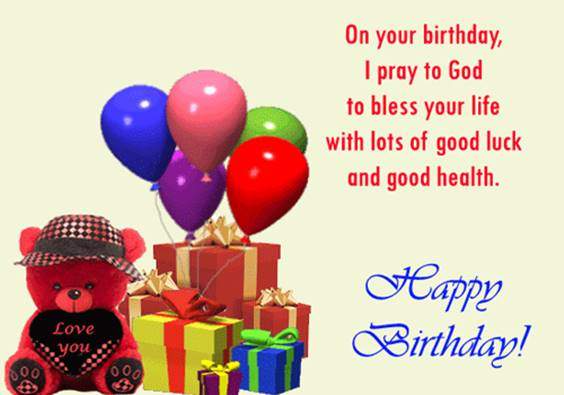 gods richest blessings on your birthday