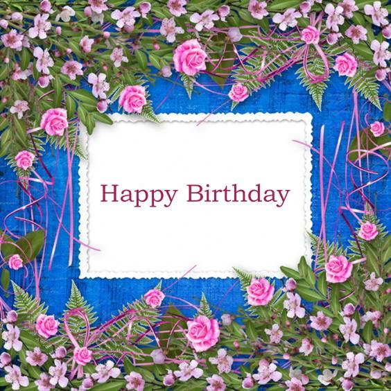 good morning happy birthday flowers