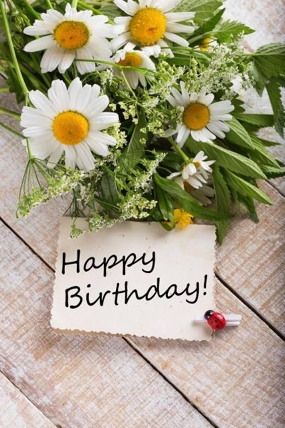 happy birthday arrangements