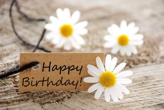 happy birthday fall flowers images