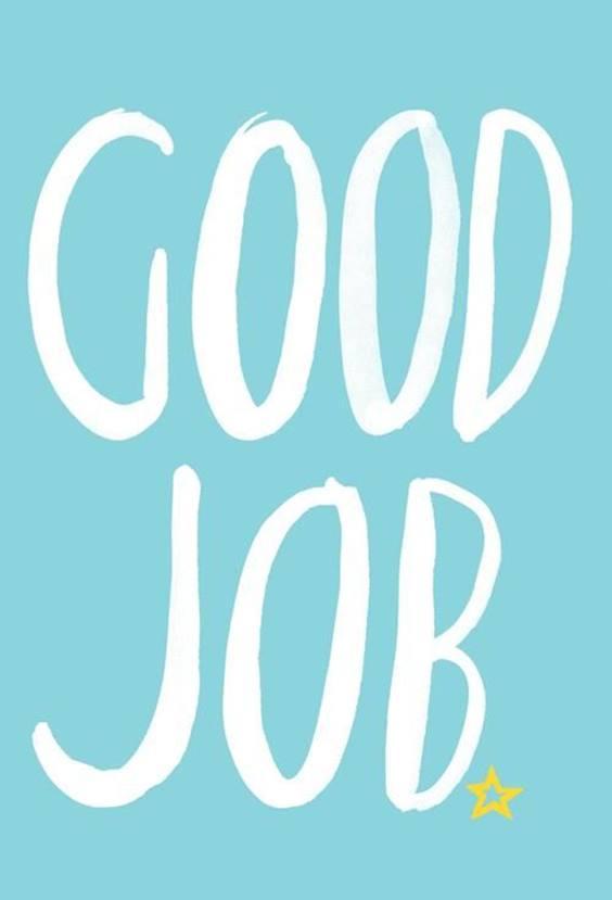 congratulating someone on a new job