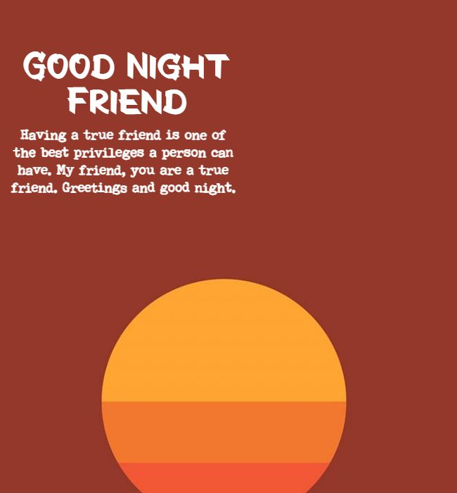 good night quotes for close friends