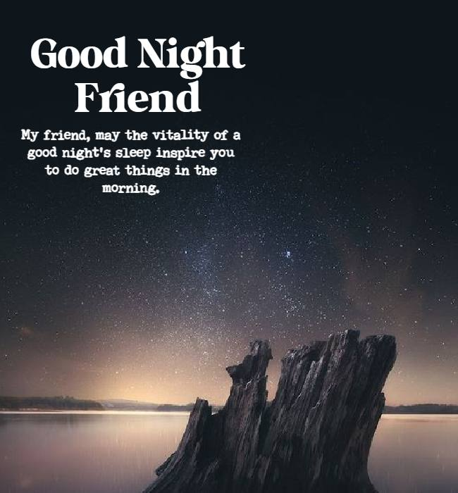 good night quotes for friends gif