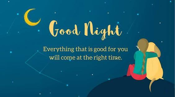 good night quotes for friends images