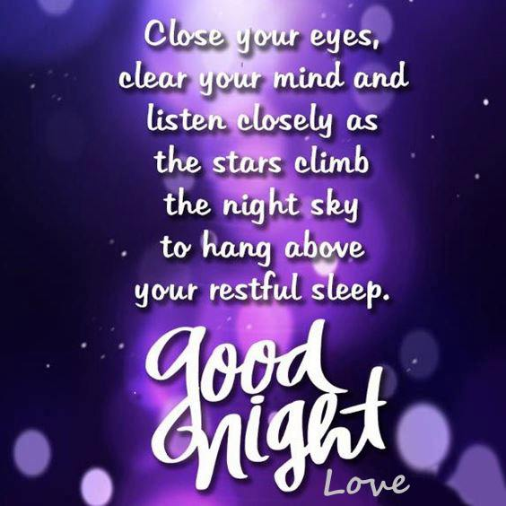 good night quotes for her
