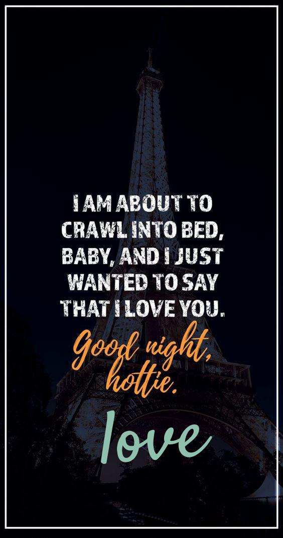 good night quotes to my sweetheart