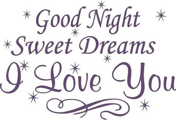 good night sweetheart quotes