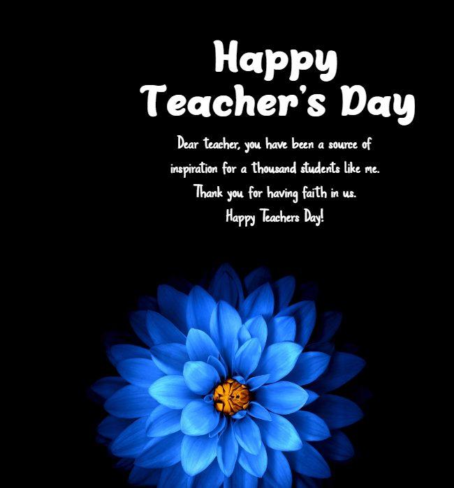 teachers day message
